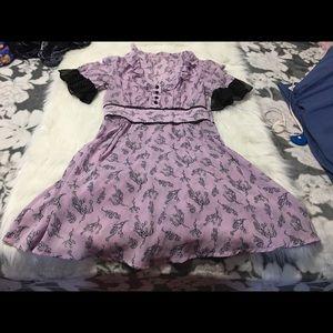 Vintage Retro Looking Lavender Dress